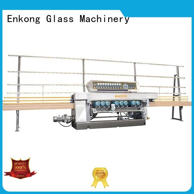 Enkong xm371 glass beveling machine factory direct supply for polishing