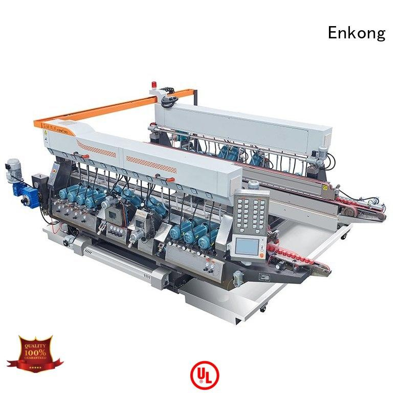glass double glass double edger machine speed Enkong Brand