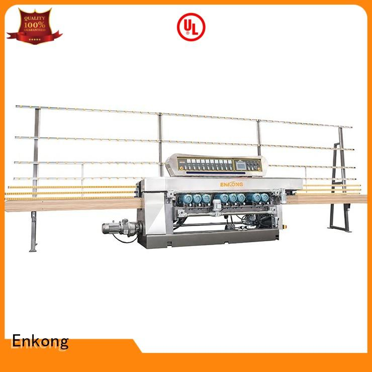 10 spindles glass straight line beveling machine series Enkong