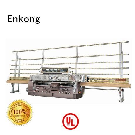 Enkong Brand glass straightline edging glass straight line edging machine machine