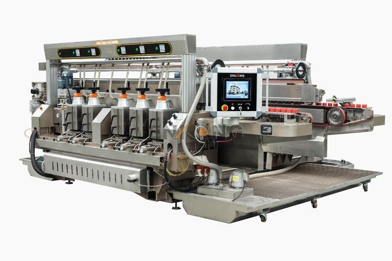 quality glass double edging machine SM 20 factory direct supply for round edge processing-1