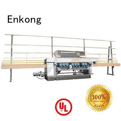 beveling glass glass beveling machine straight line Enkong company