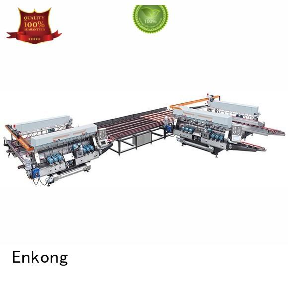 Enkong Brand double round production glass double edger