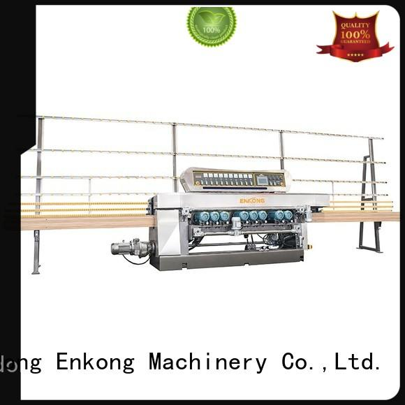 Enkong cost-effective glass beveling machine for sale series for glass processing