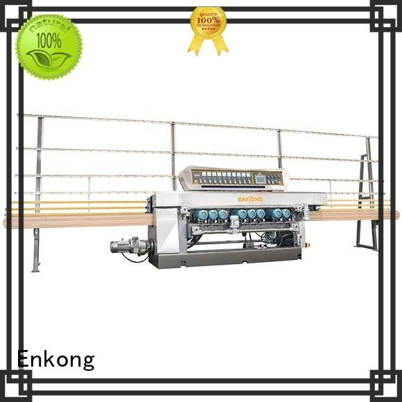 Enkong xm363a glass beveling machine factory direct supply for polishing