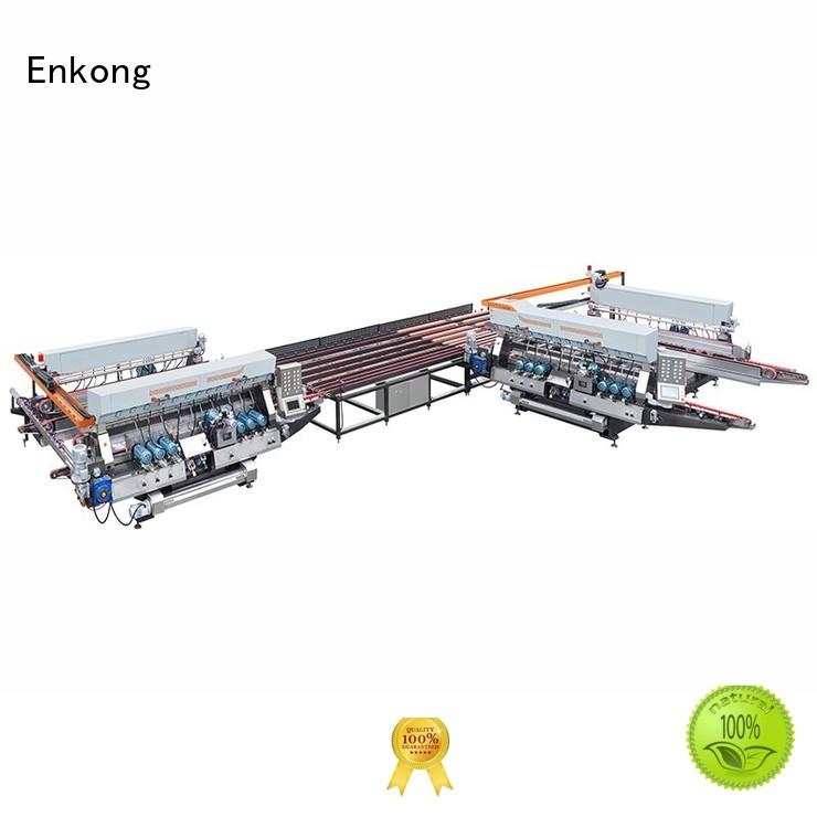 glass round production double edger line Enkong Brand