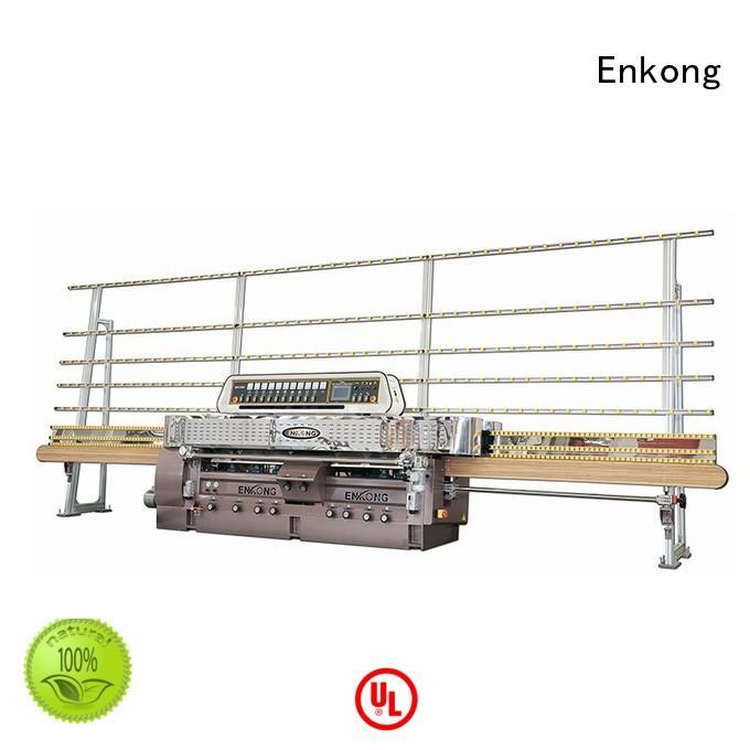 Enkong Brand glass edging glass machinery straightline factory