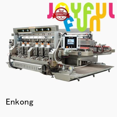 Enkong Brand speed production glass double edger