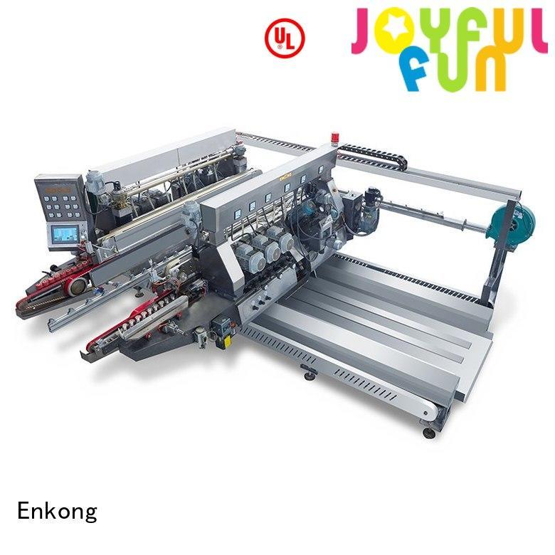 Enkong Brand glass machine glass double edger straight-line
