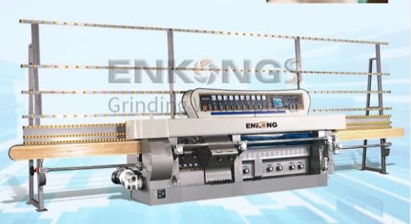 multistage glass edging machine