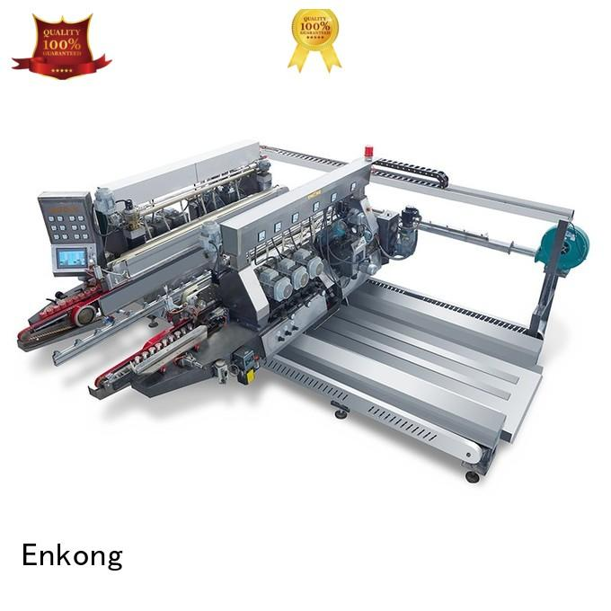 double machine glass double edger Enkong manufacture