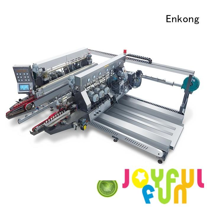 Enkong Brand machine glass double edger round supplier