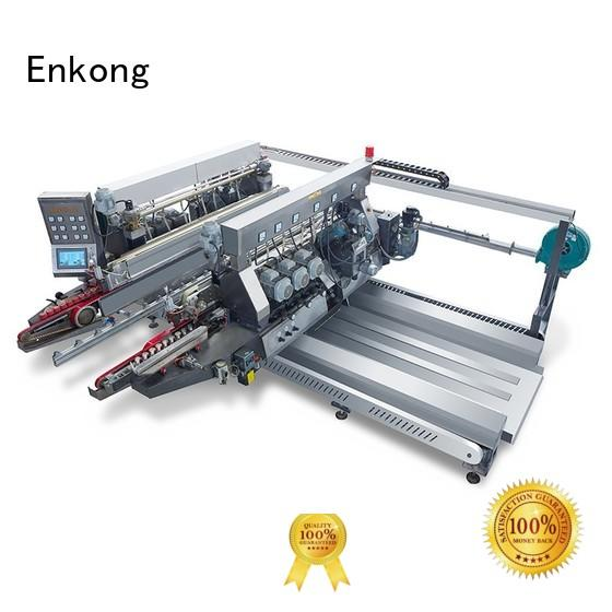 Hot glass double edger speed straight-line Enkong Brand