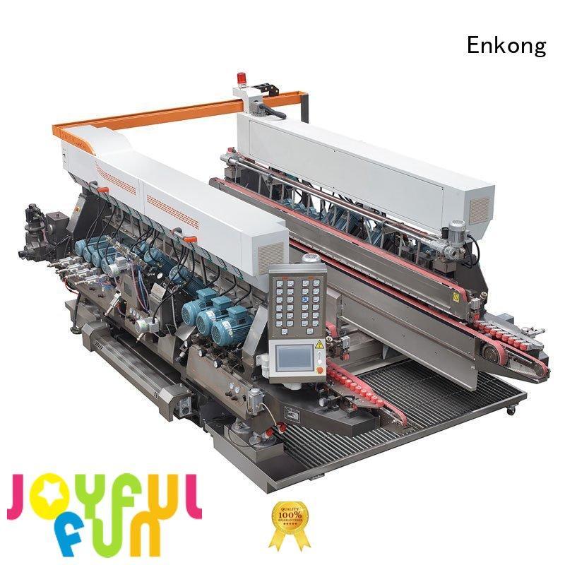 machine edging Enkong Brand glass double edger factory