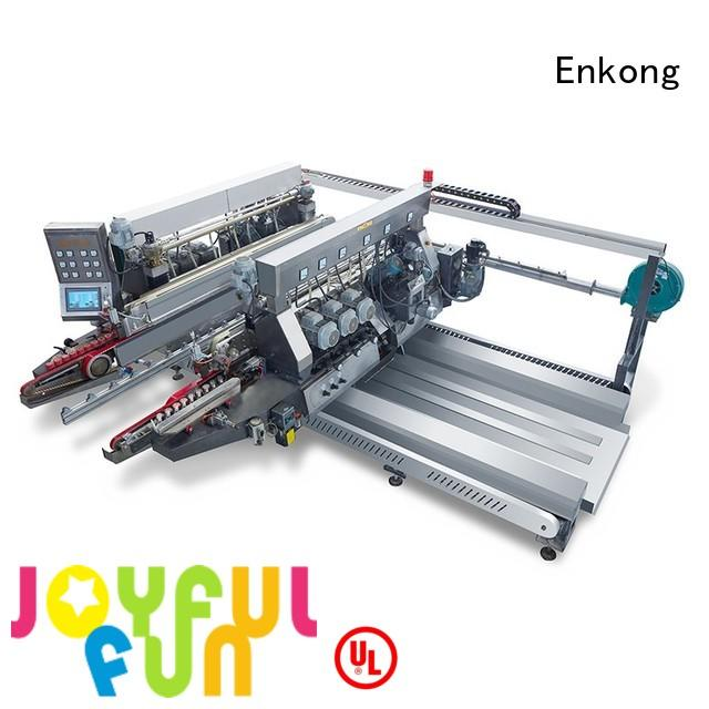 speed line glass double edger Enkong manufacture