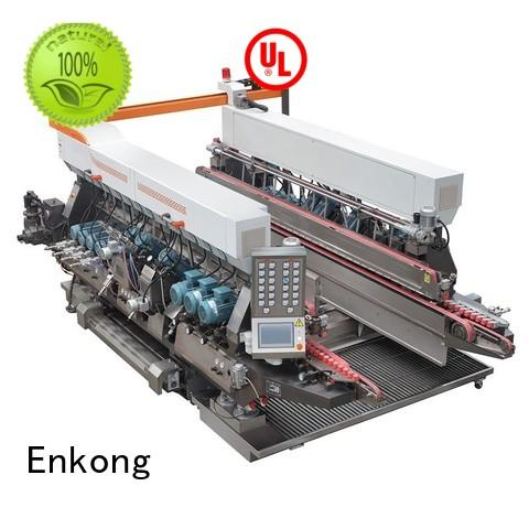 glass speed glass double edger line machine Enkong Brand