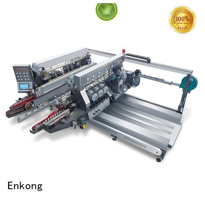 glass double edger machine edging double edger round Enkong Brand