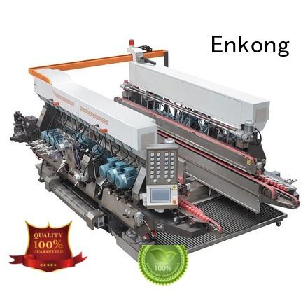glass double edger edging speed round Enkong Brand company
