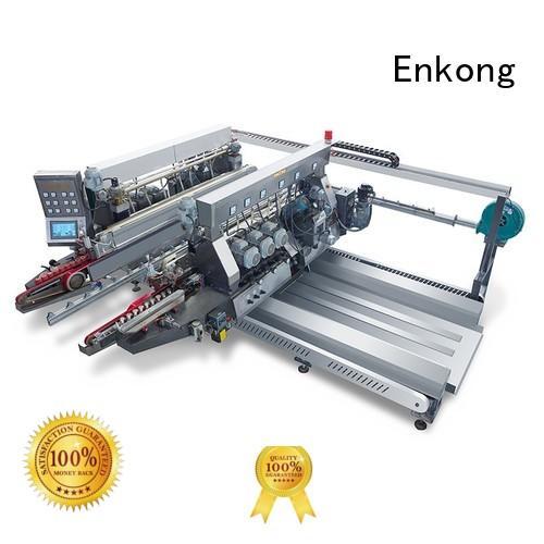 Custom glass line double edger Enkong round