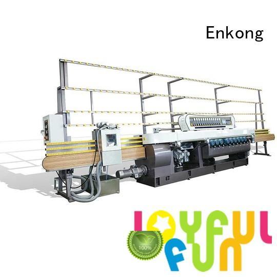 Quality Enkong Brand glass beveling equipment beveling
