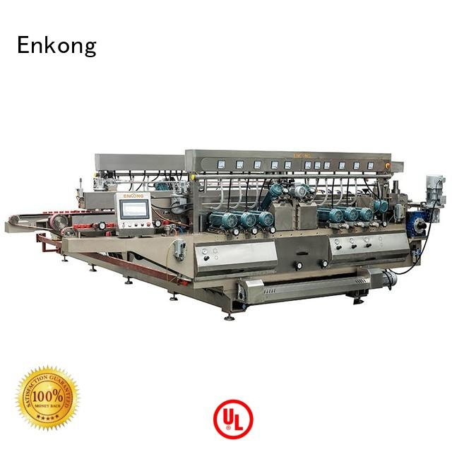 glass production glass double edger double Enkong company