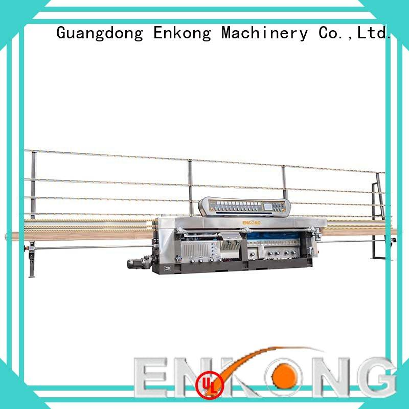60 degree glass mitering machine variable for grind Enkong
