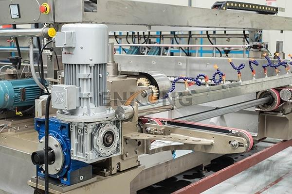 cost-effective glass double edging machine SM 12/08 manufacturer for round edge processing-3