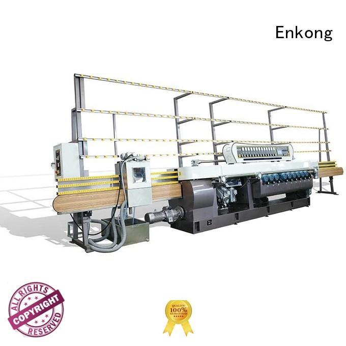 straight-line straight line straight-line glass beveling machine Enkong Brand glass beveling
