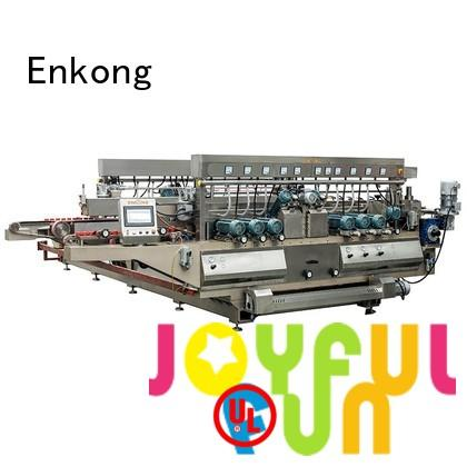 Enkong Brand round speed glass double edger edging supplier