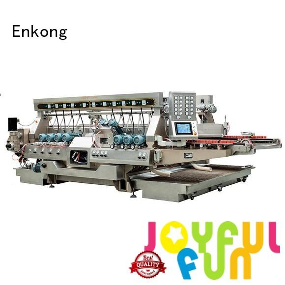 glass double edger line edging Enkong Brand company