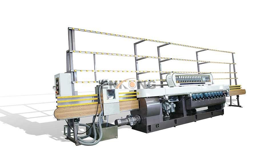 Enkong Top glass straight line beveling machine factory for glass processing-7