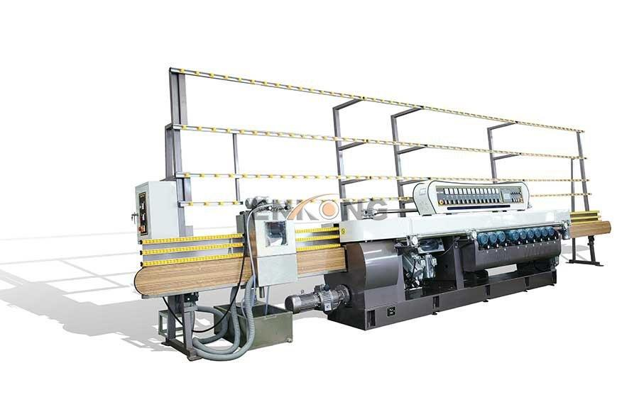Custom straight line glass beveling machine straight-line Enkong