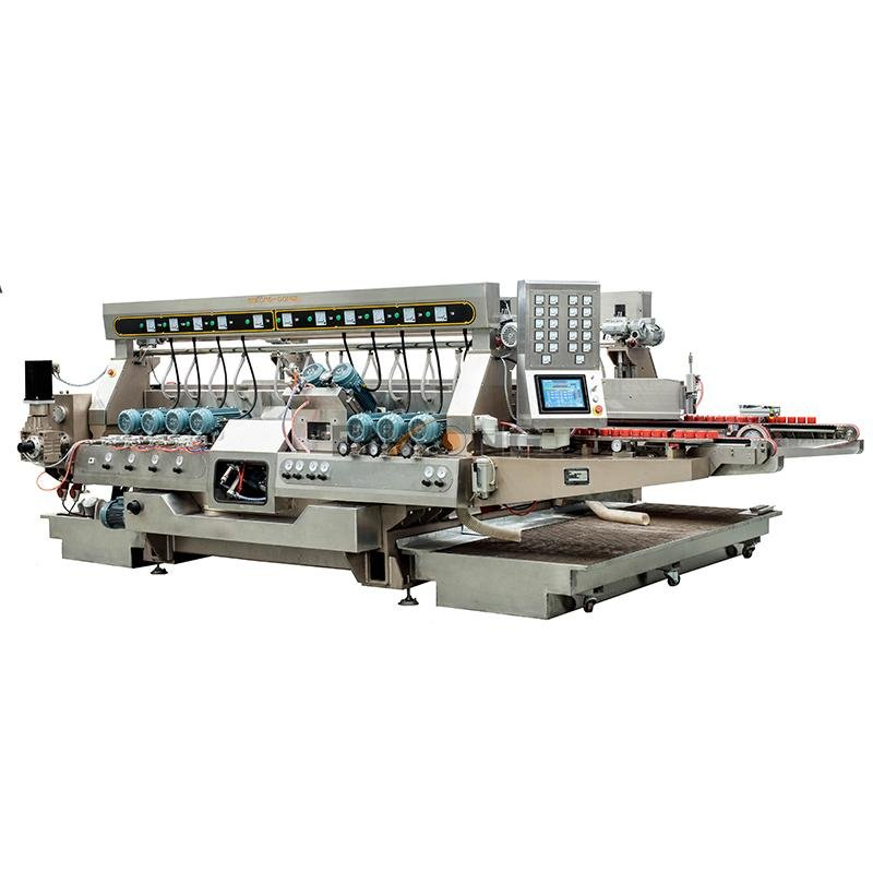 Enkong High-quality glass double edger machine supply for round edge processing-2