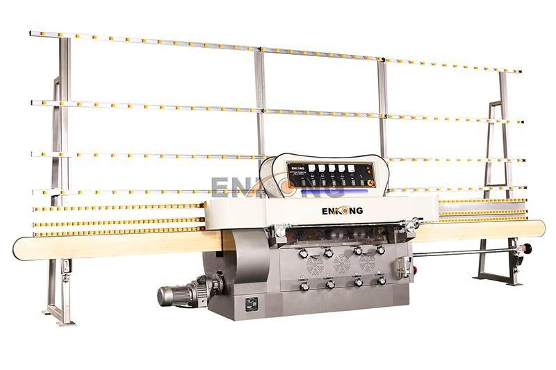 pencil edging straight-line glass edge polishing machine for sale Enkong Brand