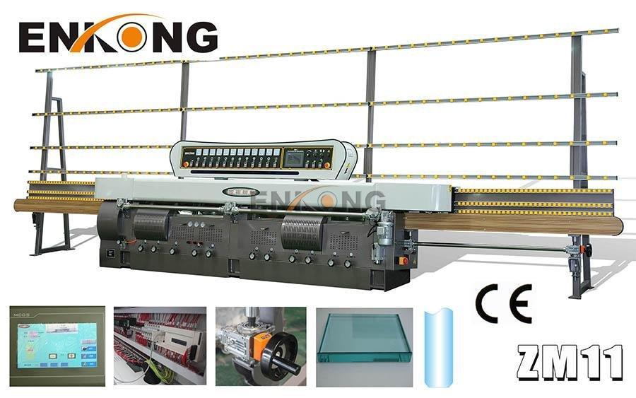 Enkong zm11 glass edge polishing machine supplier for fine grinding-1