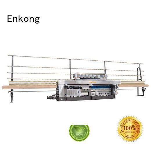 Quality Enkong Brand variable machine glass mitering machine