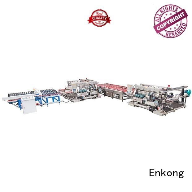 double production straight-line glass double edger Enkong manufacture