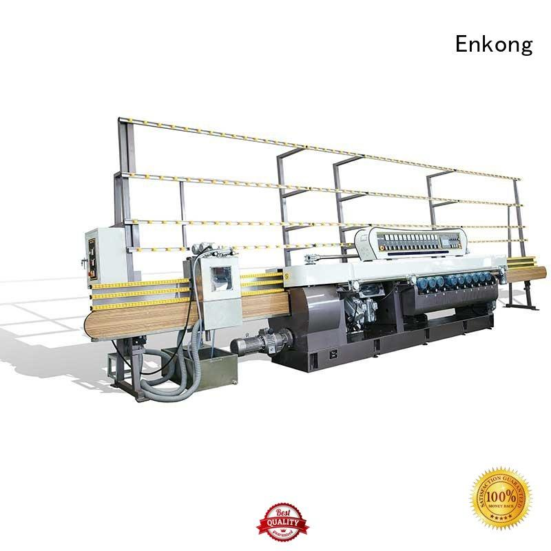 machine Custom beveling glass beveling machine straight line Enkong