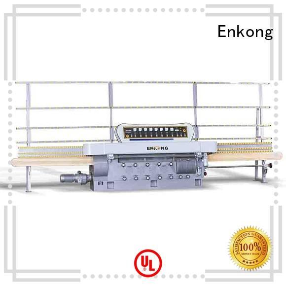 Enkong zm11 glass edge polishing machine customized for fine grinding