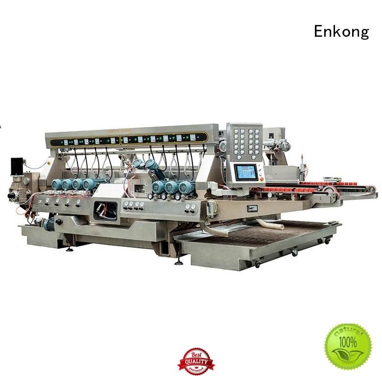 Enkong Brand machine production double edger glass factory