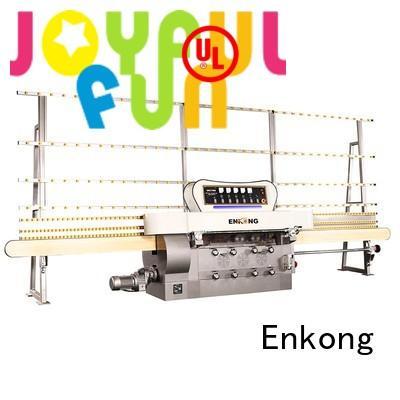 machine Custom pencil glass edge polishing straight-line Enkong