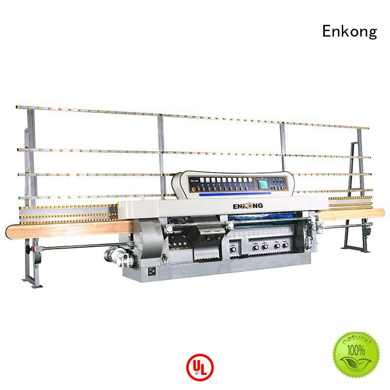 machine variable glass OEM glass mitering machine Enkong