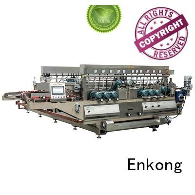edging line glass double edger Enkong manufacture