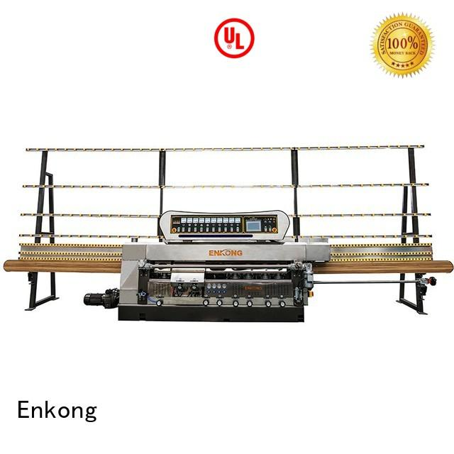 glass edge polishing machine for sale glass pencil glass edge polishing straight-line Enkong Brand