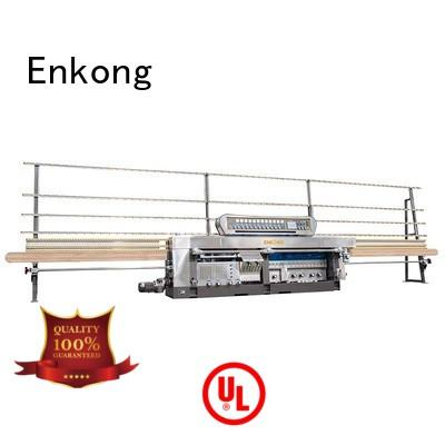 miter machine variable glass mitering machine Enkong Brand company