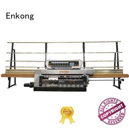 Enkong Brand pencil machine straight-line glass edge polishing manufacture