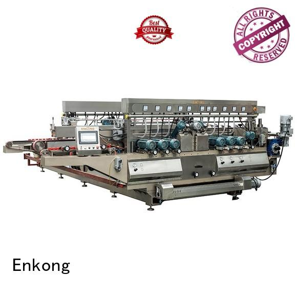glass double edger double straight-line Enkong Brand