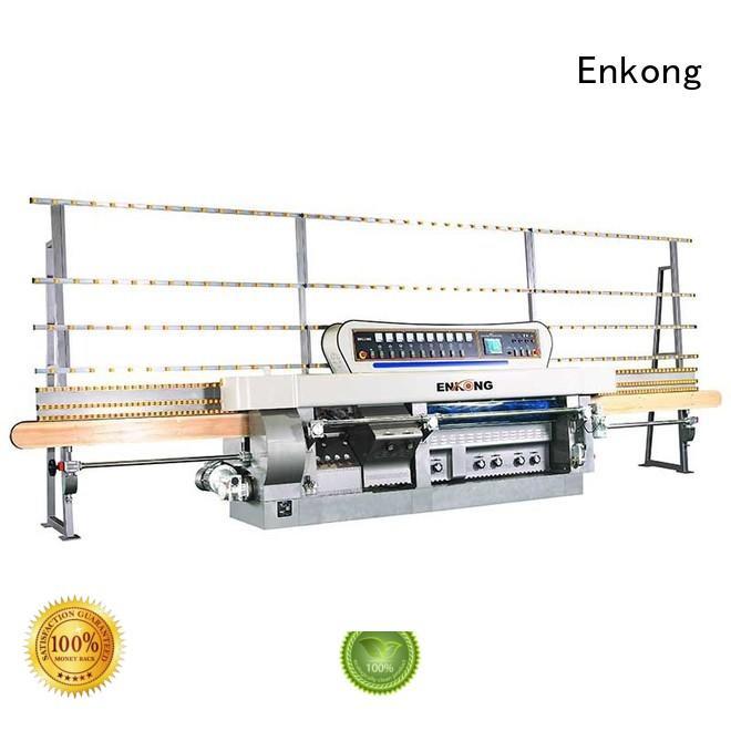 Enkong Brand variable glass mitering machine