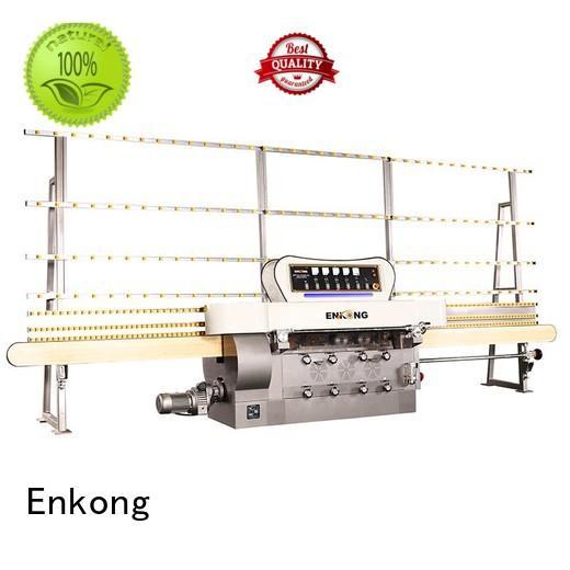 pencil edging straight-line glass edge polishing machine for sale Enkong Brand