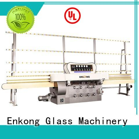 Enkong zm7y glass edging machine customized for fine grinding